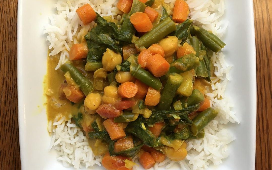 Slow-Cooker Indian Vegetable Curry